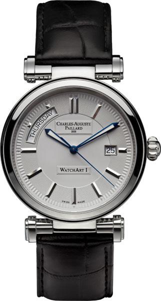Мужские часы Charles-Auguste Paillard 300.400.11.15S charles auguste paillard часы charles auguste paillard 102 200 11 36s коллекция rectangular quartz