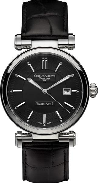Мужские часы Charles-Auguste Paillard 301.401.11.35S charles auguste paillard часы charles auguste paillard 102 200 11 36s коллекция rectangular quartz