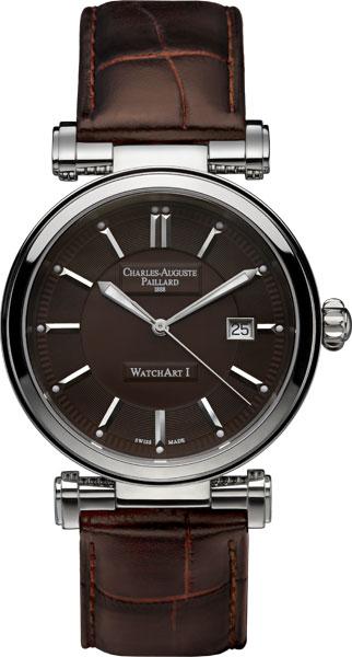 Мужские часы Charles-Auguste Paillard 301.401.11.45S charles auguste paillard часы charles auguste paillard 102 200 11 36s коллекция rectangular quartz