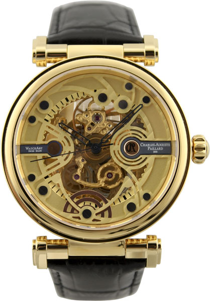 Мужские часы Charles-Auguste Paillard 306.100.12.10S charles auguste paillard часы charles auguste paillard 102 200 11 36s коллекция rectangular quartz