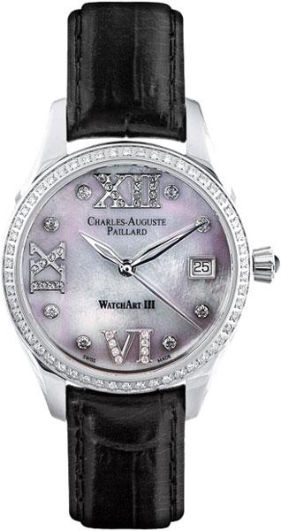 Женские часы Charles-Auguste Paillard 400.101.19.13S charles auguste paillard часы charles auguste paillard 102 200 11 36s коллекция rectangular quartz