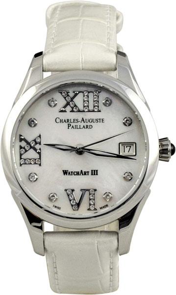 Женские часы Charles-Auguste Paillard 400.101.11.13S мужские часы charles auguste paillard 102 200 12 16b
