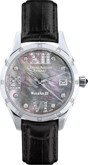 Женские часы Charles-Auguste Paillard 400.101.15.13S charles auguste paillard часы charles auguste paillard 400 101 15 13s коллекция watch art iii