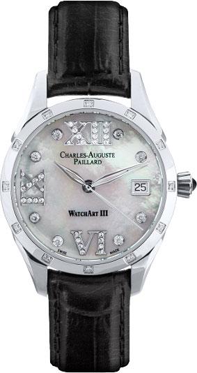 Женские часы Charles-Auguste Paillard 400.101.18.13S мужские часы charles auguste paillard 102 200 12 16b