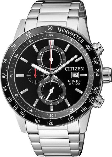 Мужские часы Citizen AN3600-59E часы citizen ar0071 59e