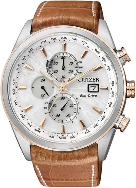 Купить Наручные часы AT8017-08A  Мужские японские наручные часы в коллекции Radio-Controlled Citizen