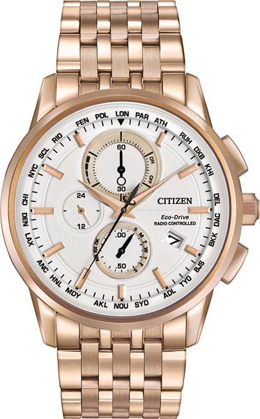 Мужские часы Citizen AT8113-55A citizen наcтольный белый салатовый