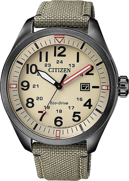 Японские мужские часы в коллекции Eco-Drive Мужские часы Citizen AW5005-12X фото