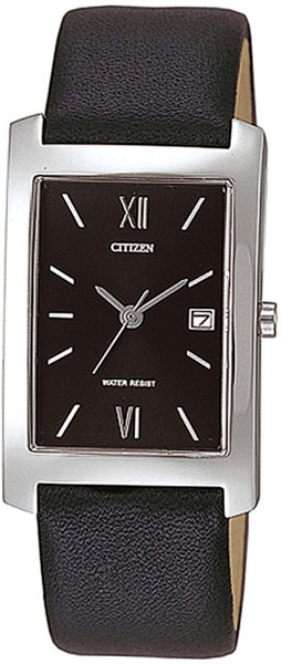 Мужские часы Citizen BH0400-31E clock with barometer thermometer and hygrometer on ash wood base