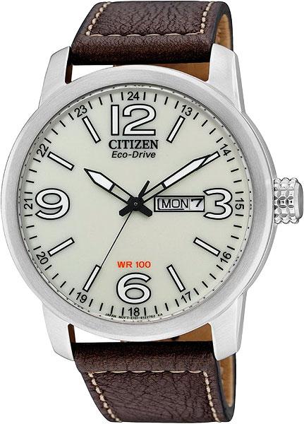 Японские мужские часы в коллекции Eco-Drive Мужские часы Citizen BM8470-03A фото