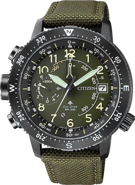 Мужские часы Citizen BN4045-12X часы с компасом