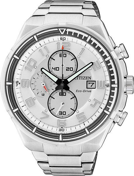 Мужские часы Citizen CA0490-52A citizen наcтольный белый салатовый