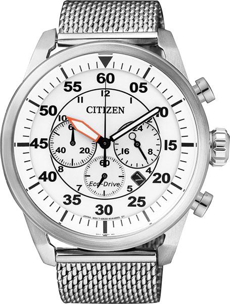 Мужские часы Citizen CA4210-59A citizen наcтольный белый салатовый