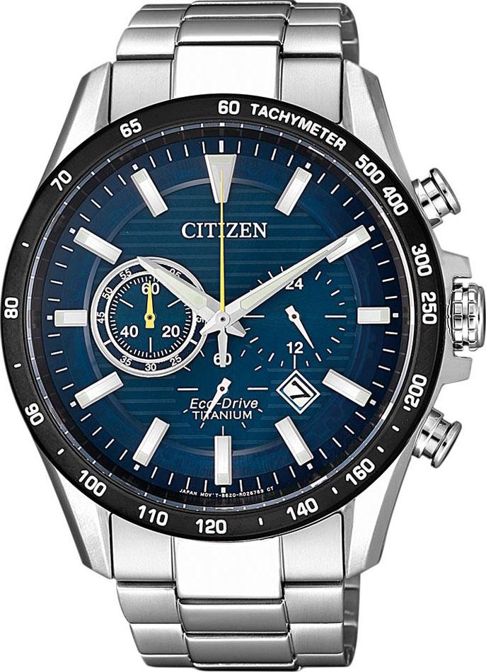 Японские мужские часы в коллекции Eco-Drive Мужские часы Citizen CA4444-82L фото