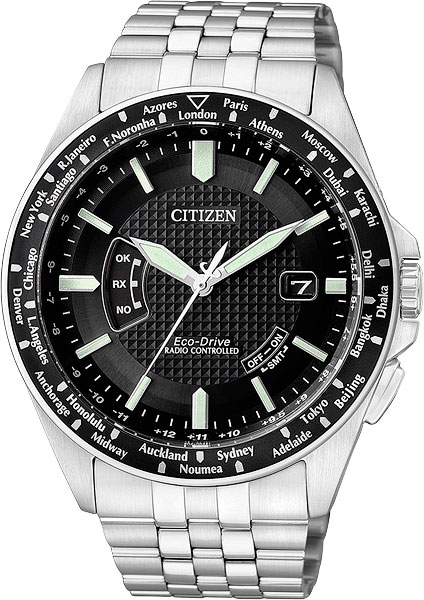 цена Мужские часы Citizen CB0021-57E онлайн в 2017 году