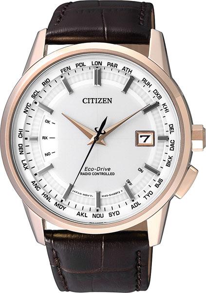 Мужские часы Citizen CB0153-21A citizen наcтольный белый салатовый