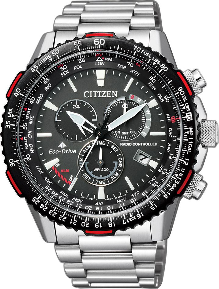 цена Мужские часы Citizen CB5001-57E онлайн в 2017 году