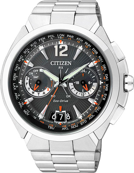 Мужские часы Citizen CC1090-52E citizen часы citizen cc1090 52e коллекция satellite wave