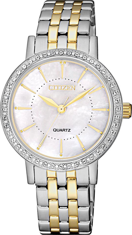 лучшая цена Женские часы Citizen EL3044-89D
