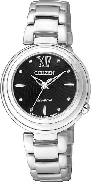 Женские часы Citizen EM0331-52E citizen часы citizen cc1090 52e коллекция satellite wave