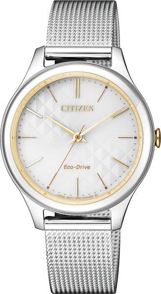 Женские часы Citizen EM0504-81A мужские часы citizen ar1130 81a