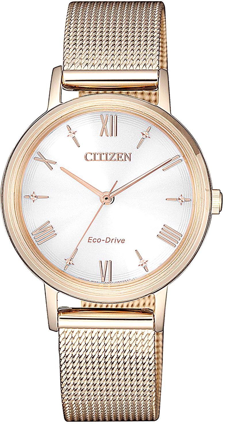 Женские часы Citizen EM0576-80A мужские часы citizen bd0048 80a