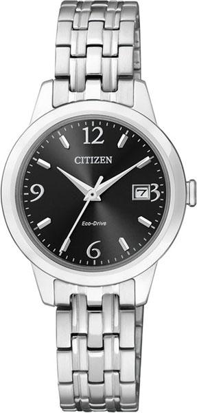 цена Женские часы Citizen EW2230-56E онлайн в 2017 году