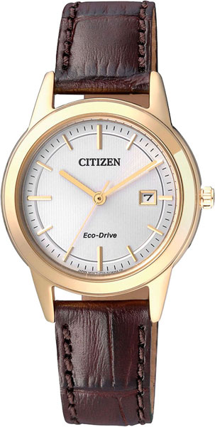 цена Женские часы Citizen FE1083-02A онлайн в 2017 году