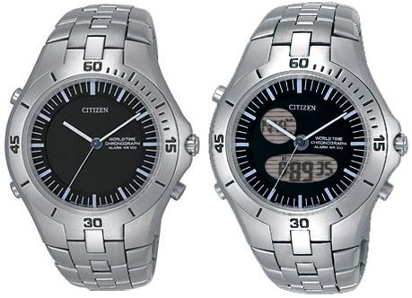 Мужские японские наручные часы Citizen JU0050-51E