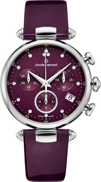 цена Женские часы Claude Bernard 10215-3VIODN онлайн в 2017 году