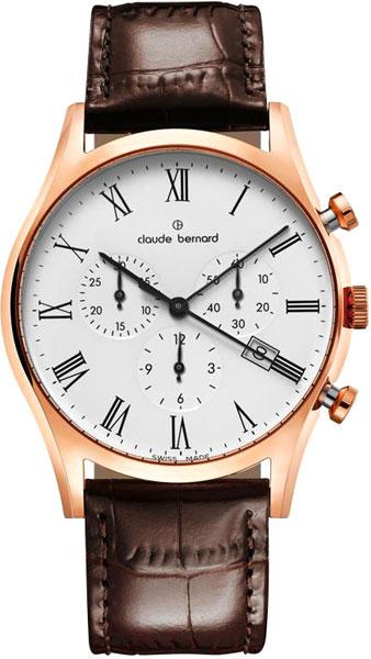 Мужские часы Claude Bernard 10218-37RBR