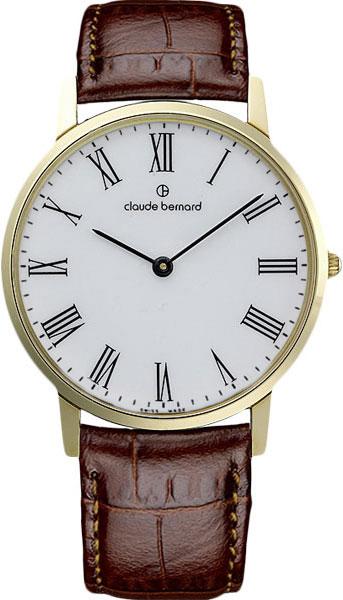 Мужские часы Claude Bernard 20060-37JBR цена и фото