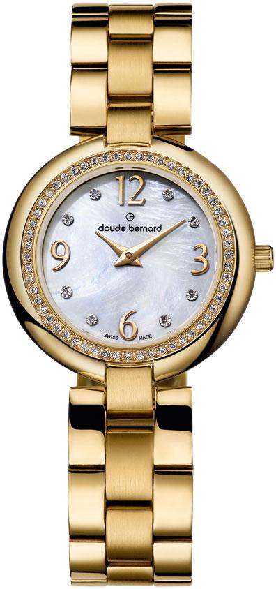 Купить Наручные часы 20082-37JNAP  Женские наручные швейцарские часы в коллекции Dress Code Claude Bernard