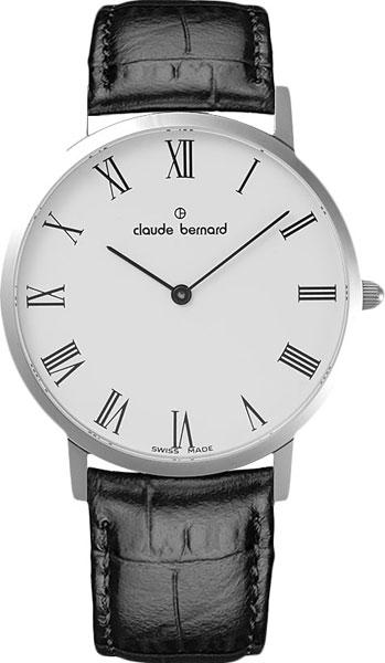 Мужские часы Claude Bernard 20202-3BR мужские часы claude bernard 53003 3br