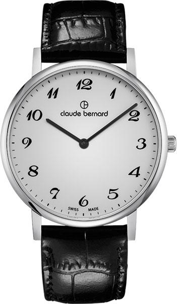 где купить  Мужские часы Claude Bernard 20214-3BB  по лучшей цене