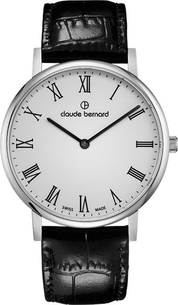 Мужские часы Claude Bernard 20214-3BR мужские часы claude bernard 53003 3br