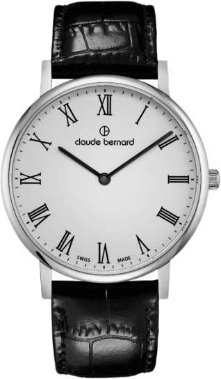 Мужские часы Claude Bernard 20219-3BR мужские часы claude bernard 53003 3br