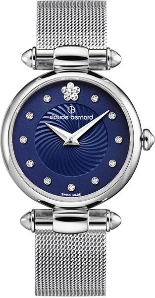 лучшая цена Женские часы Claude Bernard 20500-3BUIFN2