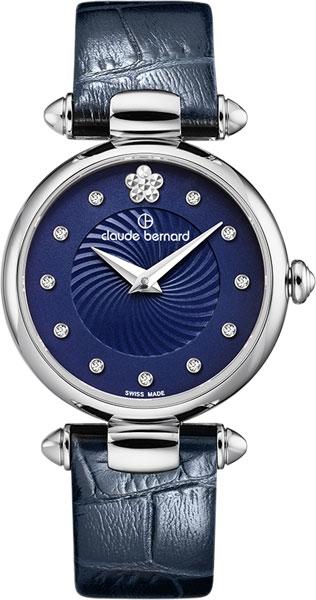 лучшая цена Женские часы Claude Bernard 20501-3BUIFN2