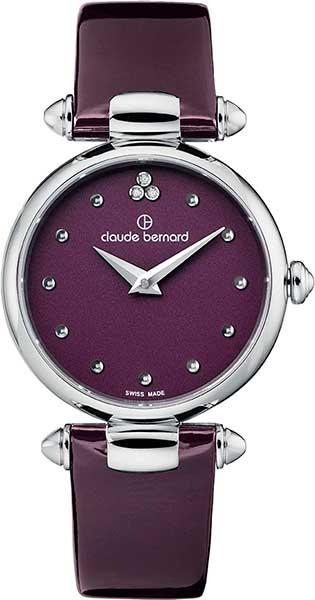 Женские часы Claude Bernard 20501-3VIODN цена и фото