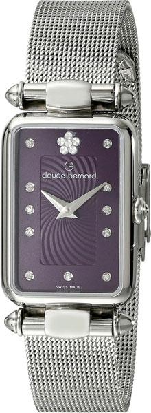 Купить Наручные часы 20503-3VIOP2  Женские наручные швейцарские часы в коллекции Dress Code Claude Bernard