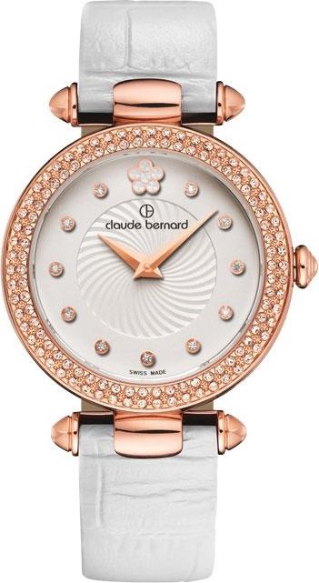 Фото - Женские часы Claude Bernard 20504-37RPAPR2 кольца swarovski 5412018 17
