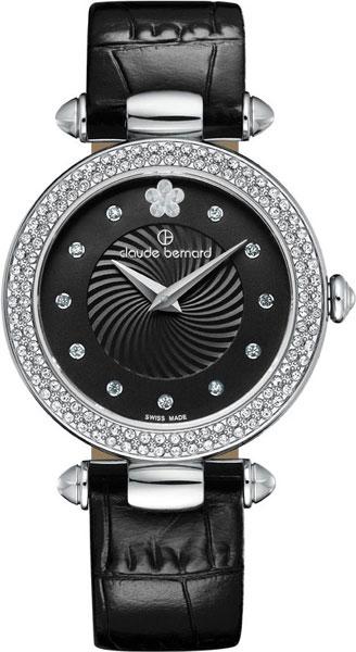 где купить  Женские часы Claude Bernard 20504-3PNPN2  по лучшей цене