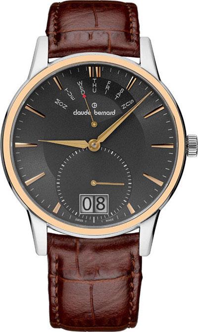 где купить Мужские часы Claude Bernard 34004-357RGIR по лучшей цене