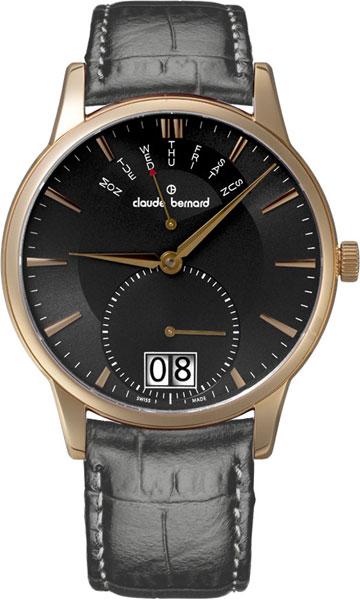 где купить Мужские часы Claude Bernard 34004-37RGIR по лучшей цене