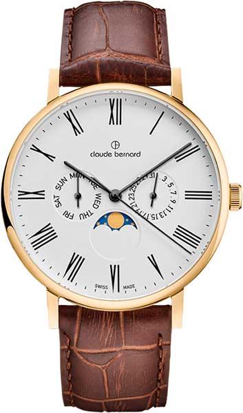 Мужские часы Claude Bernard 40004-37JBR