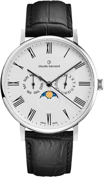 Мужские часы Claude Bernard 40004-3BR мужские часы claude bernard 53003 3br