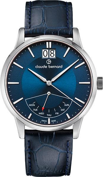 Мужские часы Claude Bernard 41001-3BUIN степлер мебельный gross 41001