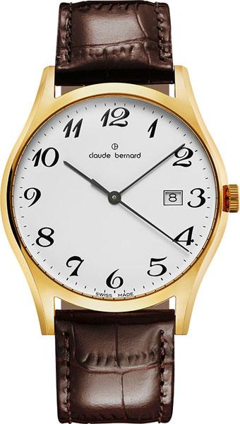 Мужские часы Claude Bernard 53003-37JBB мужские часы claude bernard 53003 3br