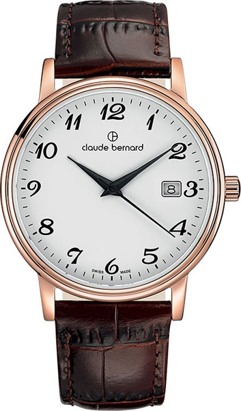 Мужские часы Claude Bernard 53007-37RBB все цены